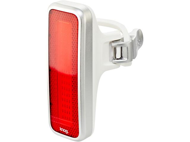 Knog Blinder MOB V Mr Chips Veiligheidslamp rode LED, rood/zilver